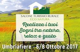 Salone del Turismo Rurale - EcoNatura<br>6/8 Ottobre 2017