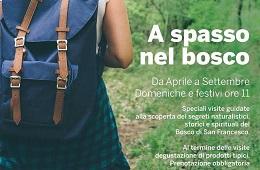 A spasso nel Bosco<br>Da Aprile a Settembre 2017