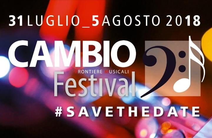 Cambio Festival 2018