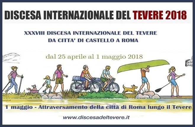 International Tiber Canoe Descent