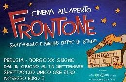 Frontone Cinema all'aperto 2017<br>14 Giugno/13 Settembre