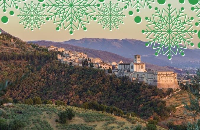 L'attesa del Natale al Bosco FAI di Assisi