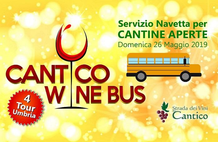 Cantico Wine Bus! Servizio Navetta per Cantine Aperte