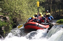 Discesa Rafting in Umbria