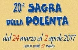 Sagra della Polenta<br>24 Marzo/2 Aprile 2017